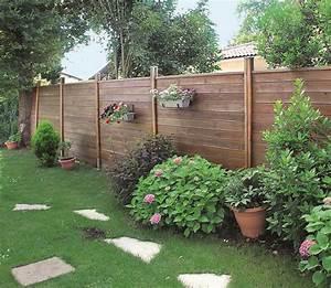 Palissade De Jardin : poser une palissade en bois ~ Melissatoandfro.com Idées de Décoration