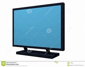 Monitor Lcd Plasma Tv Object For Diagram And Prese Royalty