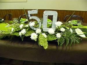 Deco Table Anniversaire 60 Ans : deco table anniversaire femme 50 ans recherche google ~ Dallasstarsshop.com Idées de Décoration
