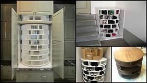 Rangement à Chaussures : rangement chaussures rotatif ~ Teatrodelosmanantiales.com Idées de Décoration