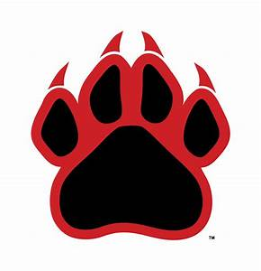 Red Panther Paw Logo - ClipArt Best - ClipArt Best