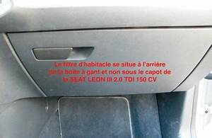 Filtre Habitacle Golf 6 : tuto changement filtre habitacle climatiseur seat leon 5f tutoriels forum autobip ~ Medecine-chirurgie-esthetiques.com Avis de Voitures