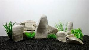 Aquarium Deko Set : aquarium deko natursteine in wei dekoration felsen steinr ckwand steine aquaristik ~ Frokenaadalensverden.com Haus und Dekorationen