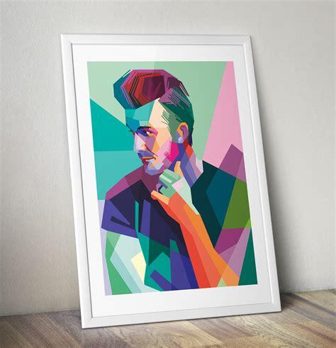 David Beckham Pop Art Canvas Print  Pop Art Gifts Pop