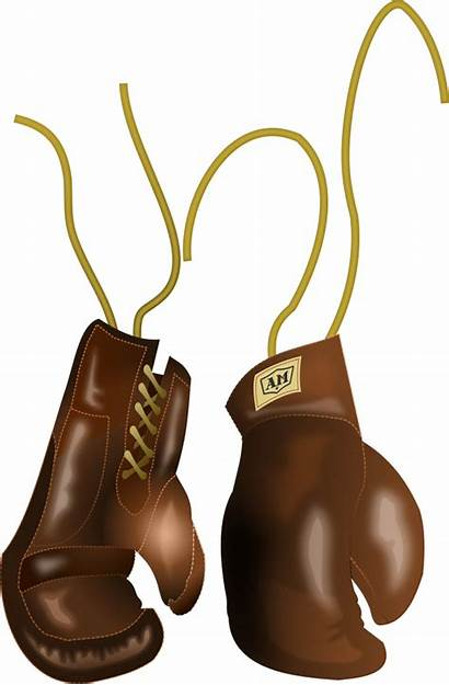 Boxing Gloves Glove Leather Clipart Clip Svg