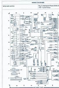 Forum Diagram  1987 Toyota Pickup 4wd 22r Engine Wiring