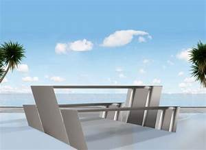 Mobilier Exterieur Design : mobilier exterieur inox ~ Teatrodelosmanantiales.com Idées de Décoration