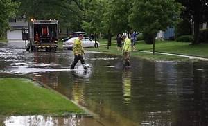 Elgin hit hardest by heavy rain in Fox Valley
