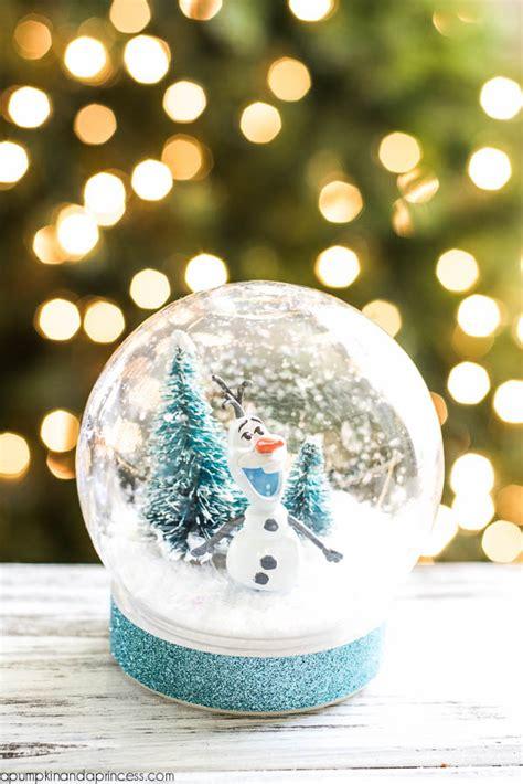 diy snow globe diy frozen olaf snow globe a pumpkin and a princess