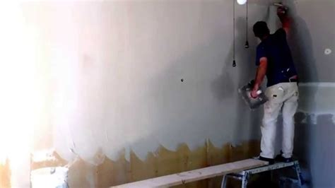 skim coating old drywall funnycat tv