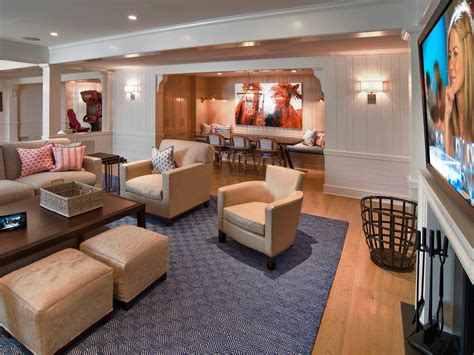 home interior pictures value finished basements add space and home value hgtv