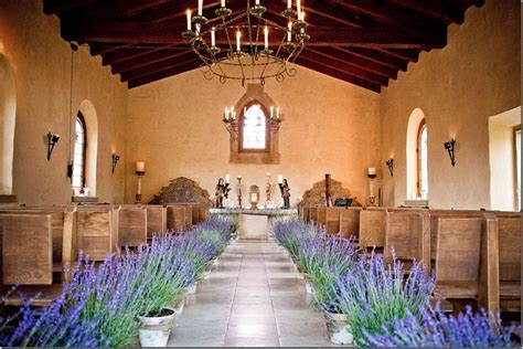 400 year old chapel at cal a vie i like the lavender in
