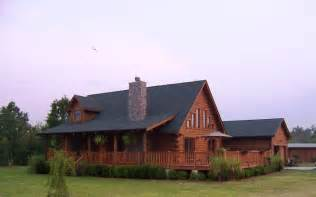 Log Home Plans with Wrap around Porch