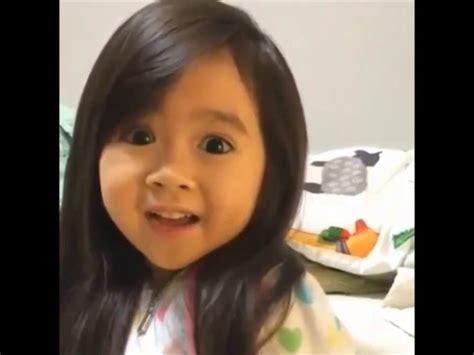 Cute Filipina Girl Looks Like Korean Saying Going To Sleep