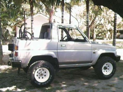 1990 Daihatsu Rocky by Hotruck 1990 Daihatsu Rocky Specs Photos Modification