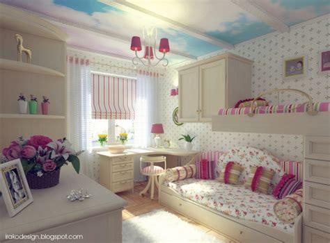 idee chambre fille idée déco pour une chambre de fille