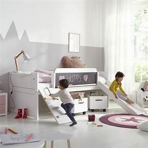 Lit Toboggan Ikea : lit toboggan 90x200 rose timoth e timoblcm01t ~ Premium-room.com Idées de Décoration