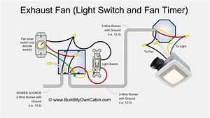 Broan Exhaust Fan Light Combo Wiring Diagram
