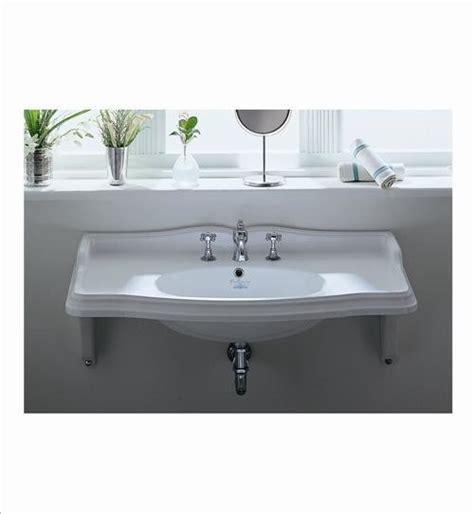 Whitehaus Ar864mnslen Wall Mount Bathroom Sink