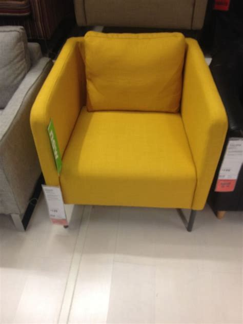 New ikea chair: love the mustard yellow and shape