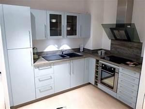 cuisine schmidt de presentation modele loft colori blue With plan de travail cuisine schmidt