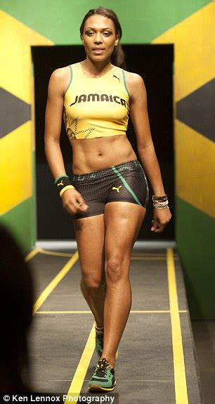 Usain Bolt The Sexy Accounts Worker Megan Edwards Who Inspired Athlete To Go For Olympic Gold