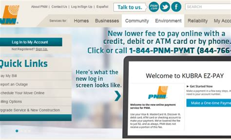 Domestic and international credit cards. www.PNM.com/PayBill | PNM Bill Payment Options