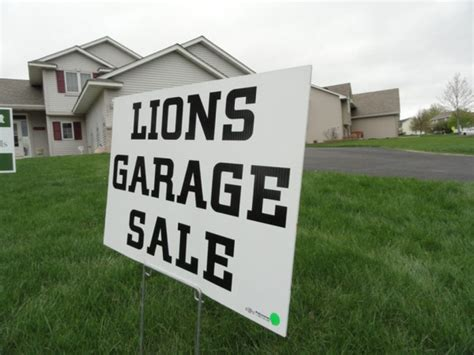 Registration Open For Woodbury Lions Club's Annual Garage
