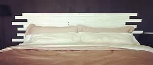 Idee De Tete De Lit : t te de lit en bois faire soi m me id es d co ~ Teatrodelosmanantiales.com Idées de Décoration
