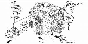 Where Is The 3rd Clutch Transmission Fluid Pressure Switch Located A 2003 Crv