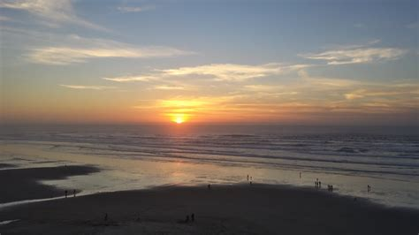 Panoramio Photo Sunset Nye Beach Newport Oregon