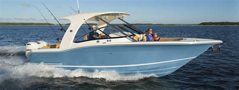 Scout Boats Wood by Scout Luxury Center Console Sport Fishing Bay Boats