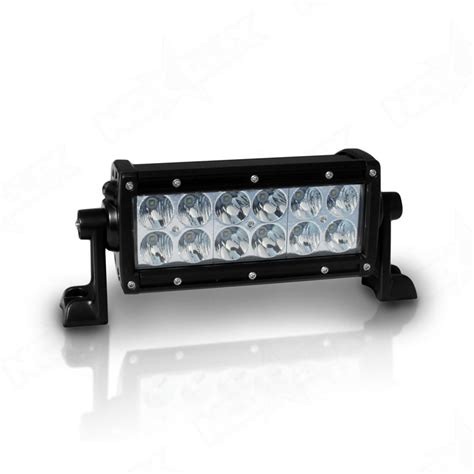 6 led light bar aurora 6 quot dual row led light bar 6 inch 4x4 led light