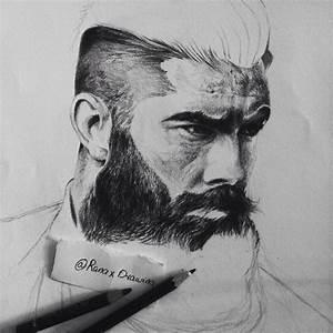 Beard Men ( Pencil ) on Behance