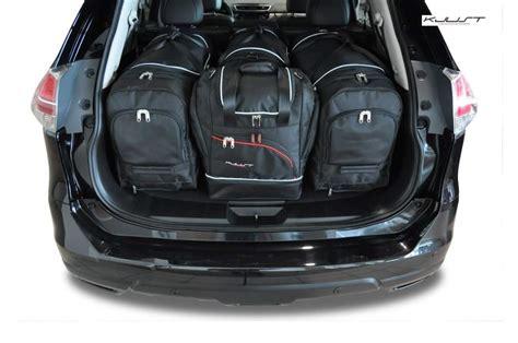nissan x trail kofferraum kofferraumtasche kjust nissan x trail 2014 car bags set 4 taschen 7030007