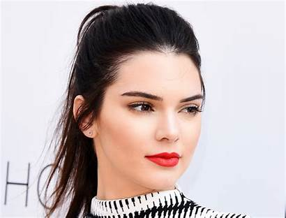 Jenner Kendall Wallpapers Background Face Lipstick Celebrities