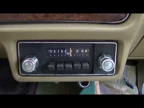 Vintage Clarion Car Radio Wiring by Repairing Vintage Am Car Radio In 1980 Ford Fairmont