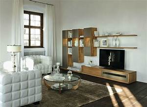 Wooden furniture in a contemporary setting for Modern wooden living room furniture