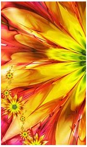 Flowers bright abstract colorful fractal wallpaper ...