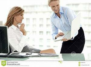 Business Meeting With Women ly Stock Image