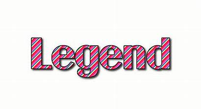 Legend Logos Text
