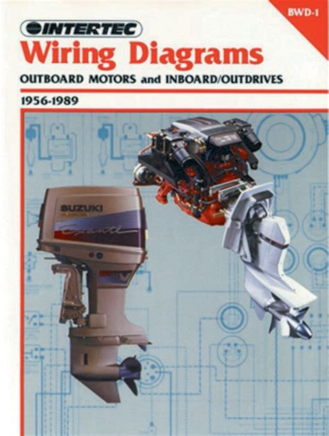 proseries wiring diagrams outboard motors inboard outdrives 1956 1989 service repair manual