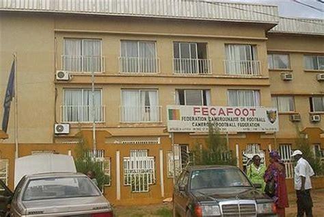 les cabinets de recrutement au cameroun cameroun football du feu dans la maison fecafoot 192 d 233 couvrir
