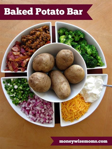 baked potato bar side dishes pinterest the world s catalog of ideas