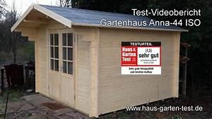 Gartenhaus Streichen Vor Aufbau : testvideo gartenhaus anna 44 iso aufbau youtube ~ Buech-reservation.com Haus und Dekorationen