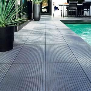 Carrelage Tour De Piscine : quel mat riau choisir pour une terrasse de piscine ~ Edinachiropracticcenter.com Idées de Décoration