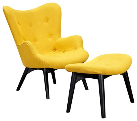 aiden chair papaya yellow black armchairs and accent