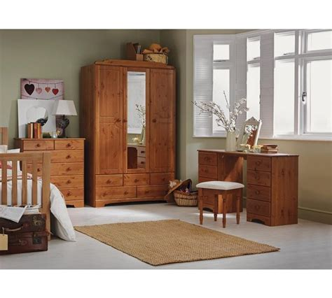 Argos Bedroom Stools - buy home nordic dressing table and stool pine at argos
