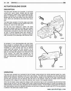 Service Manuals Schematics 1993 Dodge Ramcharger Instrument Cluster