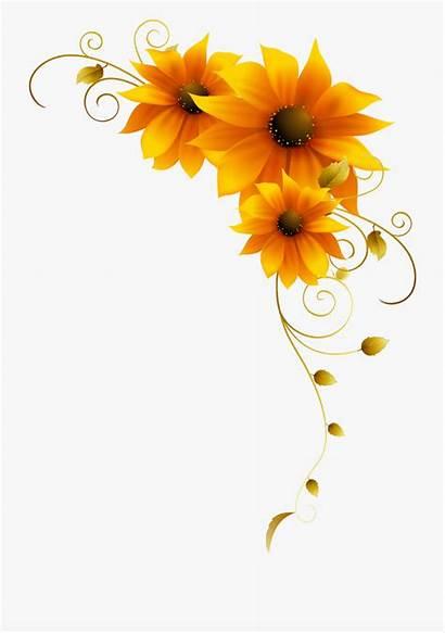 Sunflowers Yellow Flower Sunflower Clipart Cartoon Flowers